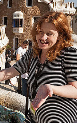 Ann-Marie tour guide free walking tours Barcelona