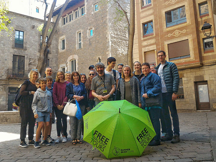 Free walking Tour Gothic Quarter