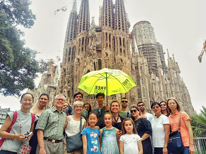 Free Walking Tour Barcelona Gaudi