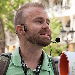 Jarrod tour guide Free Walking Tours Barcelona