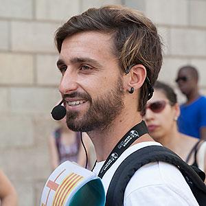 Miguel tour guide Free Walking Tours Barcelona
