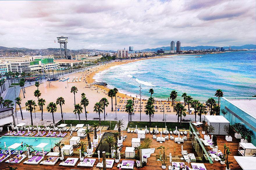 Area for accommodation in Barcelona: Barceloneta